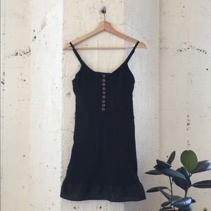 Marc by Marc Jacobs casual black cotton dress XS
